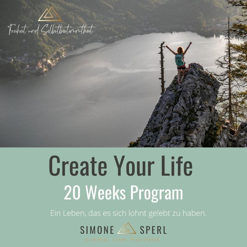 Create Your Life_20 Weeks Program